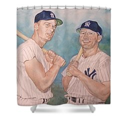Maris And Mantle Shower Curtain by Nigel Wynter