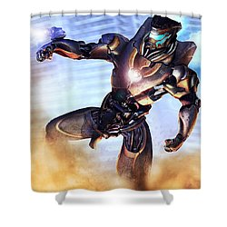Mark IIi Titan Shower Curtain