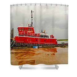 Mark K Shower Curtain