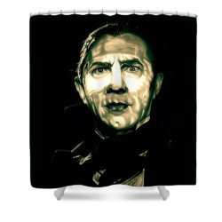 Mark Of The Vampire Shower Curtain by Fred Larucci