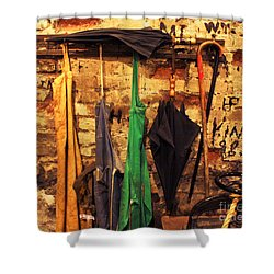 Mark Twain's Coat Rack Shower Curtain
