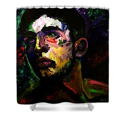 Mark Webster Artist - Dave C. 0410 Shower Curtain