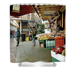 Market Alley Wares Shower Curtain