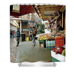 Market Alley Wares Shower Curtain