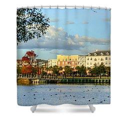 Market Common Myrtle Beach Shower Curtain