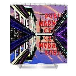 Market Entrance Shower Curtain