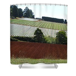 Market Gardening Shower Curtain