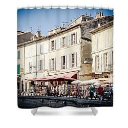 Shower Curtain featuring the photograph Market by Jason Smith