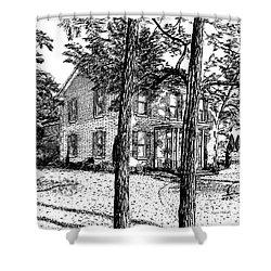 Markham House Shower Curtain