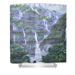 Marleshwar Shower Curtain