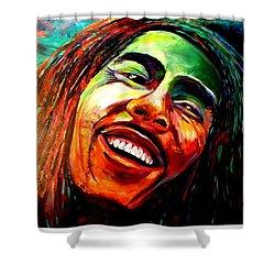 Marley Shower Curtain by Ken Pridgeon