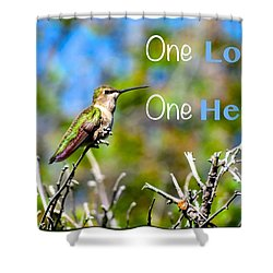 Shower Curtain featuring the photograph Marley Love  by David Norman
