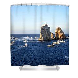 Marlin Fishing Tournament 1 Shower Curtain