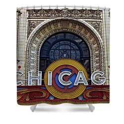 Shower Curtain featuring the photograph Marquee Close Up by Frozen in Time Fine Art Photography