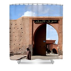 Shower Curtain featuring the photograph Marrakech 1 by Andrew Fare