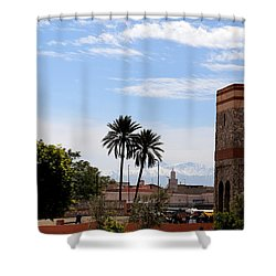 Shower Curtain featuring the photograph Marrakech 2 by Andrew Fare