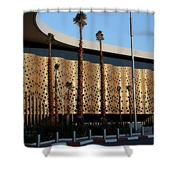 Shower Curtain featuring the photograph Marrakech Airport 1 by Andrew Fare