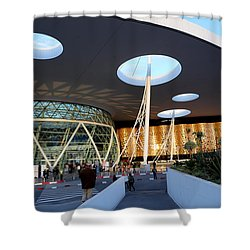 Shower Curtain featuring the photograph Marrakech Airport 2 by Andrew Fare