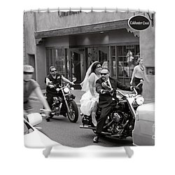 Marriage In Santa Fe Shower Curtain
