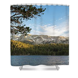Marry Lake  Shower Curtain