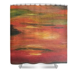 Mars Landing Shower Curtain