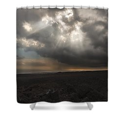 Shower Curtain featuring the photograph Mars Landscape by Ryan Manuel