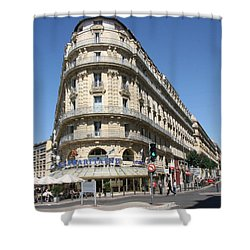Shower Curtain featuring the photograph Marseille, France by Travel Pics