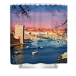 Marseille Shower Curtain