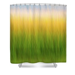 Marsh Grass Shower Curtain