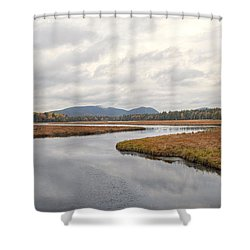 Marshall Brook No. 2 - Acadia - Maine Shower Curtain