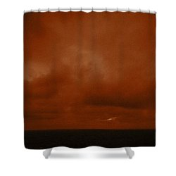 Marshall Islands Area Shower Curtain