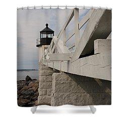 Marshall Point Shower Curtain