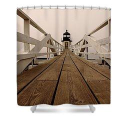 Marshall Point Fog Shower Curtain