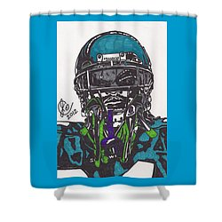 Marshawn Lynch 1 Shower Curtain by Jeremiah Colley