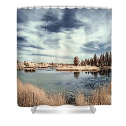 Marshlands In Washington Shower Curtain