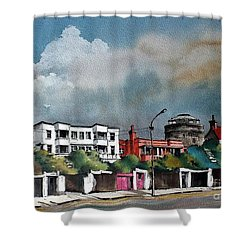 F  732 Martello Tower Bray Seafront Wicklow.. Shower Curtain