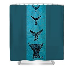 Martha's Vineyard Grans Slam -  4 Shower Curtain