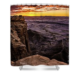 Martian Landscape On Earth - Utah Shower Curtain by Gary Whitton