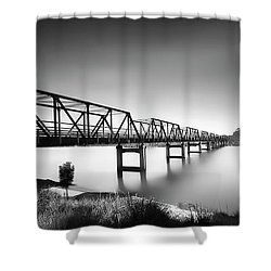 Martin Bridge 6666 Shower Curtain