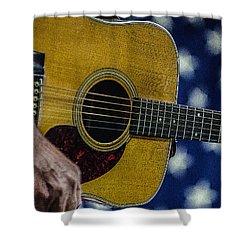 Martin Guitar 1 Shower Curtain