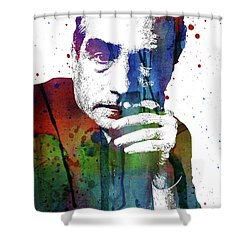 Martin Scorsese Shower Curtain by Mihaela Pater