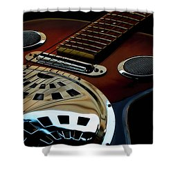 Martinez Guitar 002 Shower Curtain