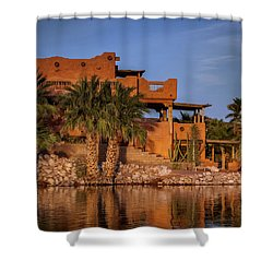 Martinez Lake Shower Curtain