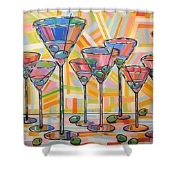 Martini Hour Shower Curtain