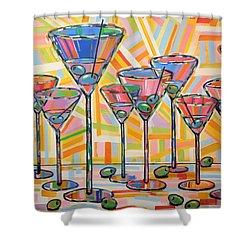 Martini Hour Shower Curtain