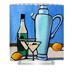 Martini Night Shower Curtain