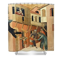 Martini: St. Augustine Shower Curtain by Granger
