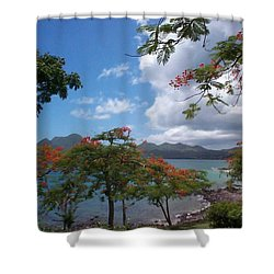 Shower Curtain featuring the photograph Martinique by Mary-Lee Sanders