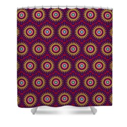Martix Design 002 A Shower Curtain