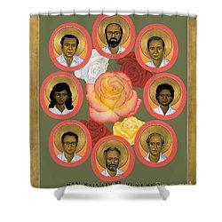 Martyrs Of The Jesuit University - Rlmju Shower Curtain